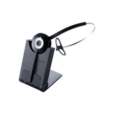 image produit Jabra Pro 920 MS Casque Mono DECT Sans Fil - Voix HD, Antibruit et Autonomie d'une Journée - Optimisé pour une Utilisation avec Téléphone Fixe en Europe - Prise UE