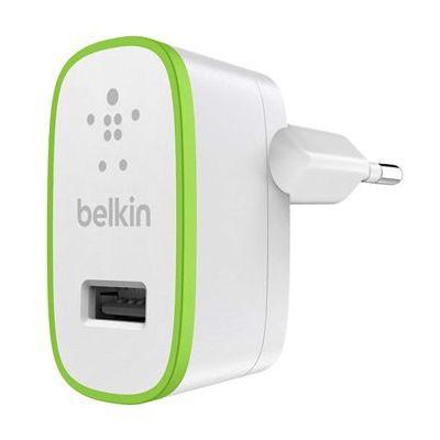 image Belkin - Chargeur Secteur USB 12W/2.4A - Blanc (Compatible iPhone 11, 11 Pro/Pro Max,XS/XSMax, iPhoneXR/X, iPhone SE,iPhone8/8Plus et autres)