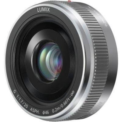 image Panasonic Lumix Objectif à focale fixe pour capteur micro 4/3 20mm F1.7 II H-H020AE-K (Grand angle 20mm, Très Grande ouverture F1.7, Ultra compact,  equiv. 35mm : 40mm)  Gris – Version Française