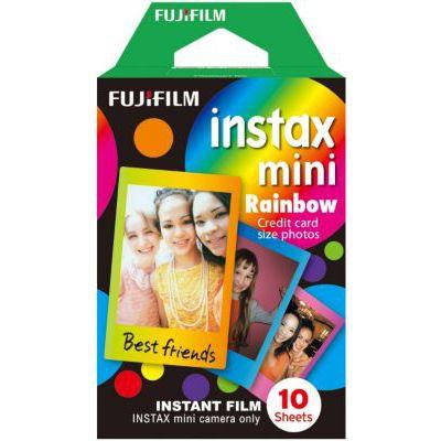 image Fujifilm Instax Mini Rainbow Film 10 poses