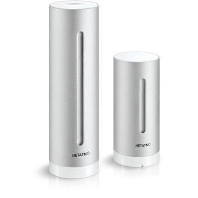 image Netatmo Pack Station Météo Intérieur Extérieur Connectée + un Module Intérieur Additionnel - Compatible avec Amazon Alexa