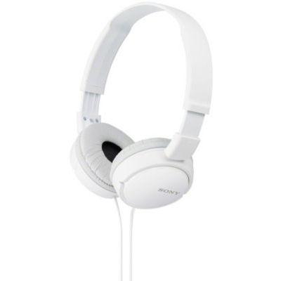 image Sony MDR-ZX110B Casque Pliable - Blanc & Répartiteur Audio 5 Casques, Blanc