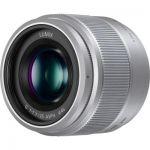 image produit Panasonic Lumix Objectif à focale fixe pour capteur micro 4/3 25mm F1.7 H-H025E-S (Grand angle 25mm, Très Grande ouverture F1.7, Ultra compact,  equiv. 35mm : 50mm)  Gris – Version Française - livrable en France