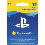 image produit Abonnement de 12 mois au PlayStation Plus (Compte FR)