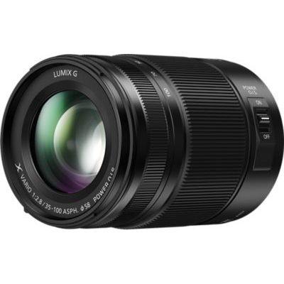 image Panasonic Lumix 35-100mm F2.8 | Objectif Téléphoto H-HSA35100E (Grande ouverture F2.8 constant, Stabilisé, Tropicalisé, equiv. 35mm : 70-200mm) Noir – Compatible monture Micro 4/3 Panasonic & Olympus