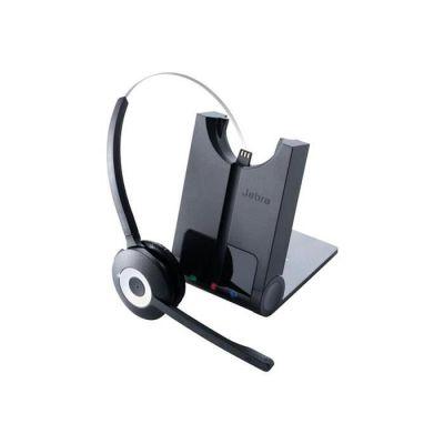 image Jabra Pro 930 Duo MS Casque Stereo DECT sans Fil - Certifié Skype for Business, Antibruit et Autonomie d'une Journée - Utilisation avec Logiciels Softphones en Europe - Prise UE