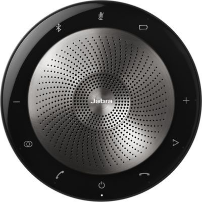 image Jabra Speak 710 Haut Parleur – Enceinte Portable Certifiée UC avec Adaptateur Bluetooth et USB – Compatible avec Ordinateurs Portables, Smartphones et Tablettes. Boîte de vente au détail