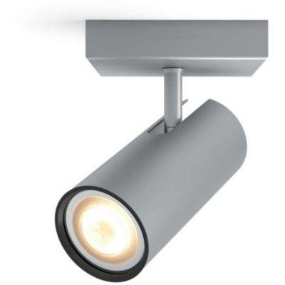 image Philips Hue White Ambiance BURATTO Spot 1x5.5W extension - Aluminium (télécommande non incluse)