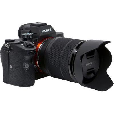 image Sony Alpha 7III ILCE7M3/A7M3, Appareil Photo Hybride Numérique Plein Format, Kit A7M3K, Boîtier Nu + Objectif 28-70 mm & SEL 50-F18F Objectif 50 mm Ouverture F1.8 pour Monture E Sony