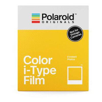 image Polaroid Originals Pellicule Couleur Instantanée pour Type I, Blanc (4668)