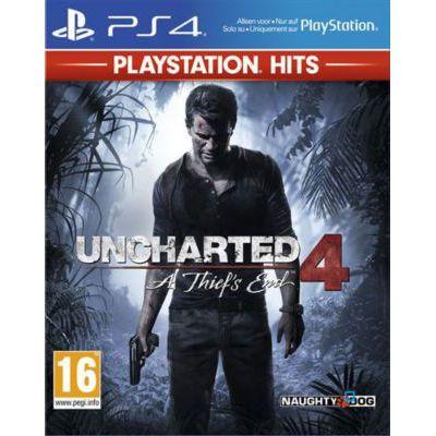 image Uncharted 4 - PlayStation Hits, Version physique, En français, Mode multijoueur, 1 Joueur