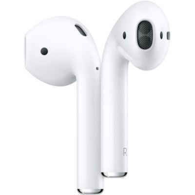 image Apple AirPods avec boîtier de charge filaire (2e génération)