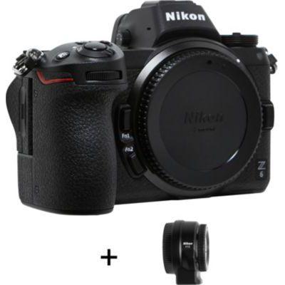 image produit Nikon Hybride Z6 avec FTZ AF Bague d'adaptation