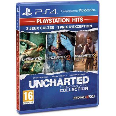 image Uncharted : The Nathan Drake Collection HITS