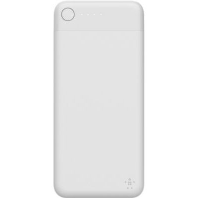 image Belkin - Batterie Externe Lightning Pocket Power Bank 5000 mAh (Sécurité Certifiée) pour iPhone et iPad – Blanc