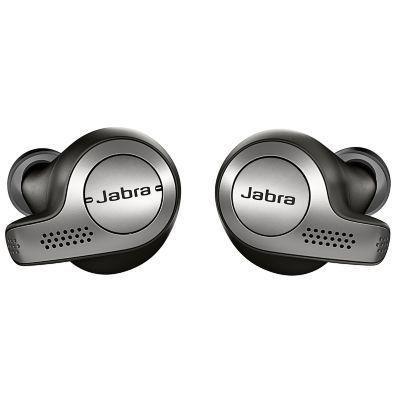 image Jabra Elite 65t Écouteurs - Écouteurs Bluetooth sans Fil à Isolation Passive du Bruit avec Technologie à 4 Microphones - Noir Titane