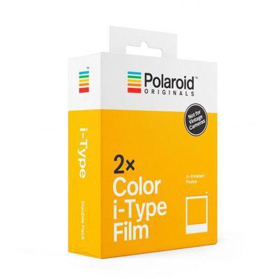 image Polaroid Originals 4836 Film i-Type Couleur Double Pack Cadre Blanc