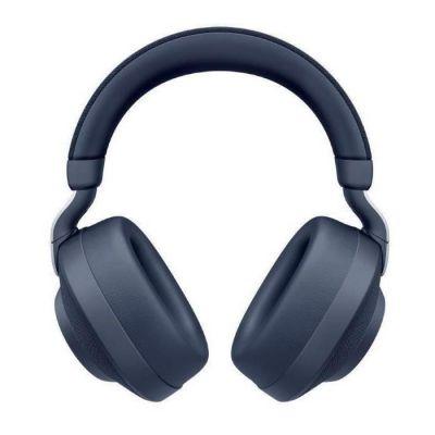 image Jabra Écouteurs Circum-auriculaires Elite 85h - Écouteurs Sans Fil à Réduction de Bruit Active - Bleu marine