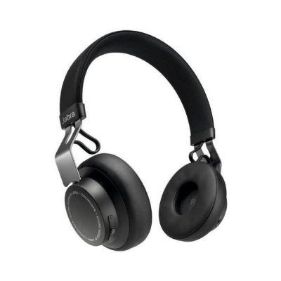 image Jabra Écouteurs Supra-auriculaires Move Style Edition – Se Connecte avec les Smartphones, Ordinateurs et Tablettes Bluetooth pour la Musique et les Appels sans Fil – Noir Titane