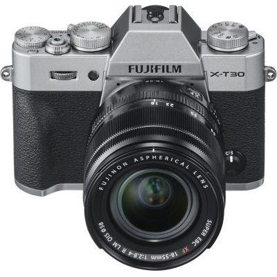 image Fujifilm XT30 Appareil Photo Numérique Argent + XF1855mm
