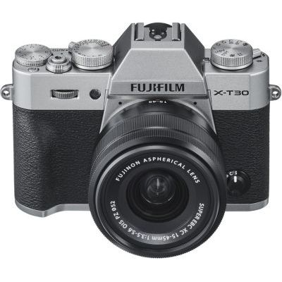 image Fujifilm 16619126 Appareil Photo Hybride X-T30 + XC15-45mmPZ Silver