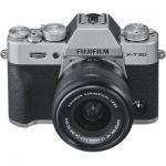 image produit Fujifilm 16619126 Appareil Photo Hybride X-T30 + XC15-45mmPZ Silver