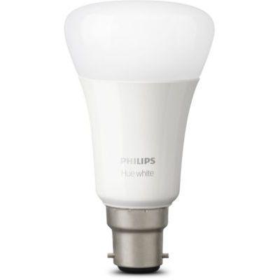 image Philips Hue White Kit de Démarrage 2 ampoules LED connectées + Pont de connexion Hue, compatible Bluetooth - Fonctionne avec Alexa