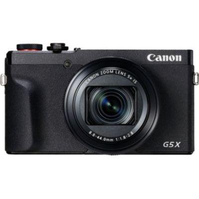 image Canon Powershot G5 X Mark II Appareil Photo Numérique - Noir 3070C002 Compact & 9839B001 Batterie pour Canon PowerShot G7X Gris