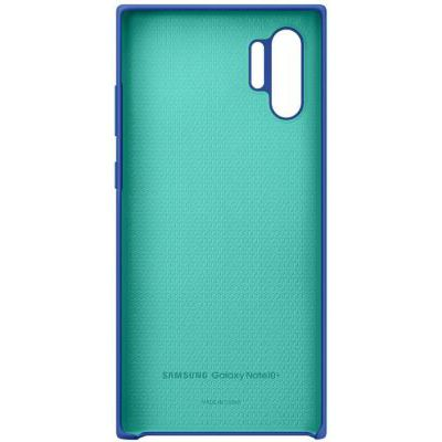 image SAMSUNG Coque Silicone Blue Galaxy Note 10+ - Bleu
