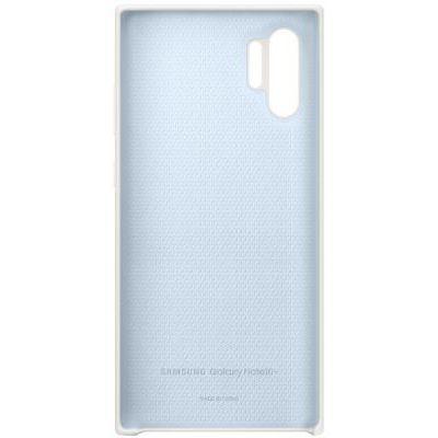 image SAMSUNG Coque Silicone Blanc Galaxy Note 10+