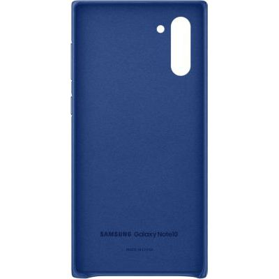image SAMSUNG Coque Cuir Bleu Galaxy Note 10