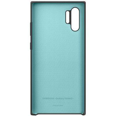image SAMSUNG Coque Silicone Noir Galaxy Note 10+
