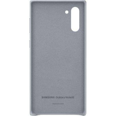 image Samsung Coque Cuir Gris Galaxy Note 10