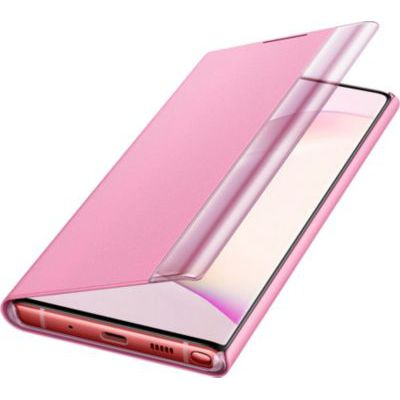 image SAMSUNG Clear View Cover Rose Galaxy Note 10