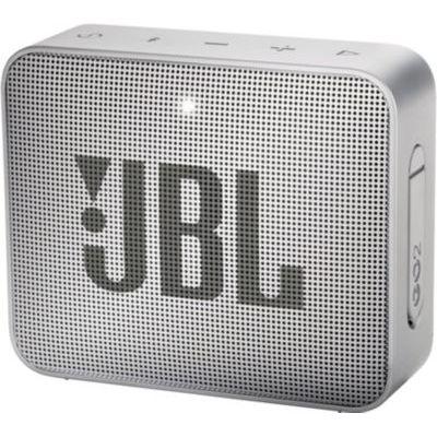 image JBL GO 2 - Mini Enceinte Bluetooth portable - Étanche pour piscine & plage IPX7 - Autonomie 5hrs - Qualité audio JBL - Gris