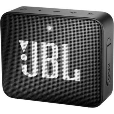 image JBL GO 2 - Mini Enceinte Bluetooth portable - Étanche pour piscine & plage IPX7 - Autonomie 5hrs - Qualité audio JBL - Noir