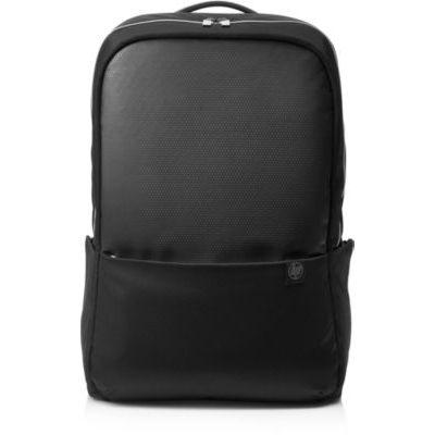 """image HP Pavilion Accent Sac à Dos pour Ordinateur Portable jusqu'à 15.6"""" (Résistant à l'Eau, 30,5 x 14,5 x 47 cm) - Noir/Argenté"""