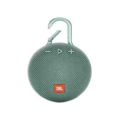 image JBL K951515 Clip 3 – Enceinte Bluetooth Portable avec Mousqueton – Étanchéité IPX7 – Autonomie 10hrs – Qualité Audio JBL – Bluetooth, Turquoise