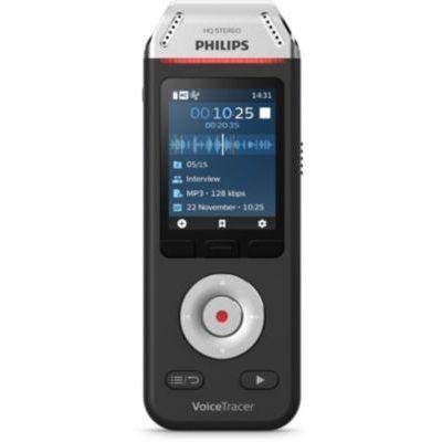 image Philips Enregistreur Voicetracer audio pour Interviews et Notes DVT2110