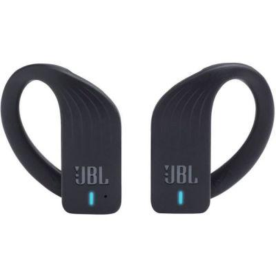 image JBL Endurance PEAK – Écouteurs intra-auriculaires de sport sans fil – Bluetooth : Jusqu'à 28 hrs d'écoute combinée – Avec commande tactile pour appels – Noir