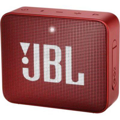image JBL GO 2 - Mini Enceinte Bluetooth portable - Étanche pour piscine & plage IPX7 - Autonomie 5hrs - Qualité audio JBL - Rouge
