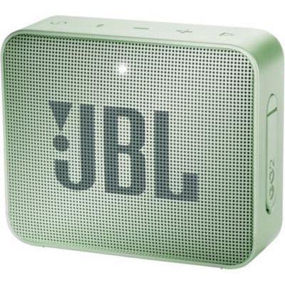 image JBL GO 2 - Mini Enceinte Bluetooth portable - Étanche pour piscine & plage IPX7 - Autonomie 5hrs - Qualité audio JBL - Menthe