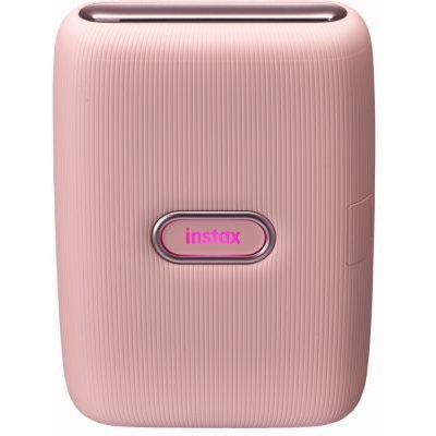image Instax Link Imprimante pour Smartphone Rose foncé & Twin Films pour Instax Mini - 86 x 54 mm - 10 Feuilles x 2 Paquets = 20 Feuilles