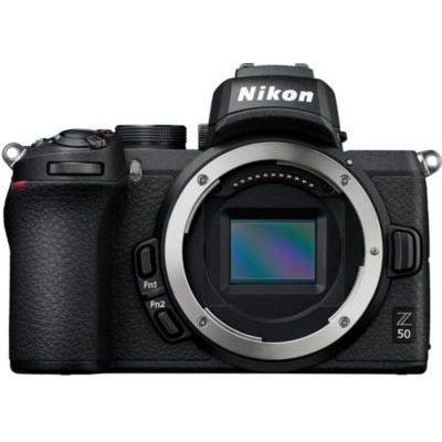 image Nikon Hybride Z50 boitier Nu + Bague d'adaptation FTZ + Carte mémoire SDXC SanDisk Extreme 128Go jusqu'à 150Mo/s, Classe 10, U3, V30