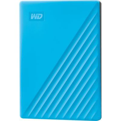 image Disque dur externe WD My Passport 2To Bleu