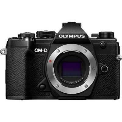 image Olympus OM-DE-M5 Mark III Noir, Appareil Photo Micro 4/3, capteur 20 MP, stabilisateur d'image 5 axes, AF puissant, viseur électronique OLED, vidéo 4K, WLAN, Bluetooth