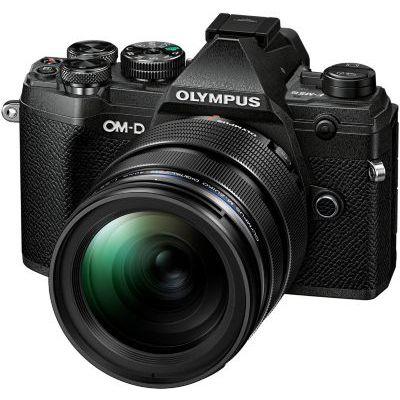 image Olympus OM-D E-M5 Mark III Kit, Appareil Photo Micro 4/3, (20 MP, Stabilisateur d'Image 5 Axes, AF puissant, Vidéo 4K, WLAN), Noir + Objectif 12-40mm M.Zuiko PRO