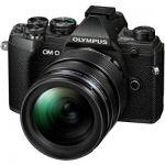 image produit Olympus OM-D E-M5 Mark III Kit, Appareil Photo Micro 4/3, (20 MP, Stabilisateur d'Image 5 Axes, AF puissant, Vidéo 4K, WLAN), Noir + Objectif 12-40mm M.Zuiko PRO - livrable en France