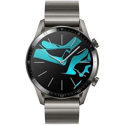image HUAWEI Watch GT 2(46mm) Montre Connectée, Autonomie de 2 Semaine, GPS Intégré, 15 Modes de Sport, Suivi du Rythme Cardiaque en Temps Réel, Appels Bluetooth, Elite Grise