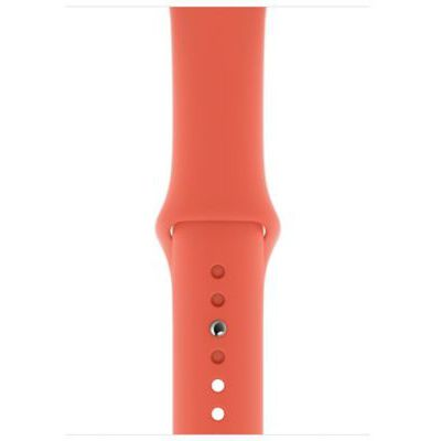 image Apple Watch Bracelet Sport (44 mm) - Clémentine - S/M et M/L